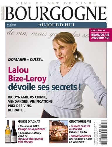 couverture Bourgogne aujourd'hui numéro 128