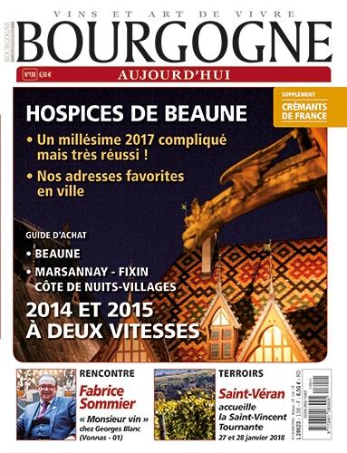 Couverture Bourgogne Aujourd'hui numéro 138