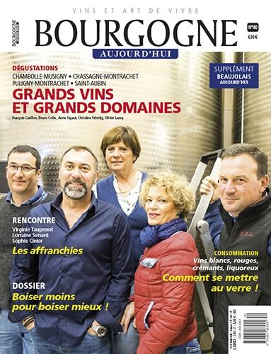 Couverture Bourgogne Aujourd'hui numéro 140