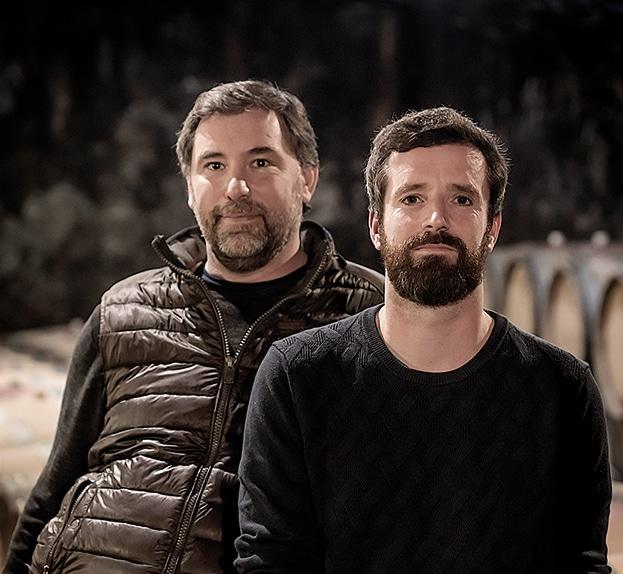 Domaine Jean-Marc et Hugues Pavelot-Hugues Pavelot et son frère Pierre-Yves