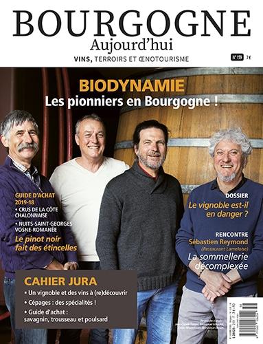 couverture Bourgogne Aujourd'hui numéro 159 - juin- juillet 2021