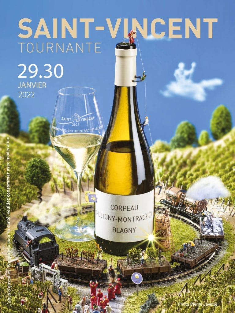 L'affiche officielle de la Saint-Vincent Tournante 2022.